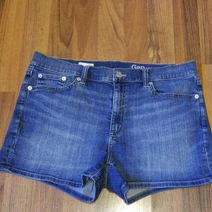 GAP Denim Blue Jean Shorts